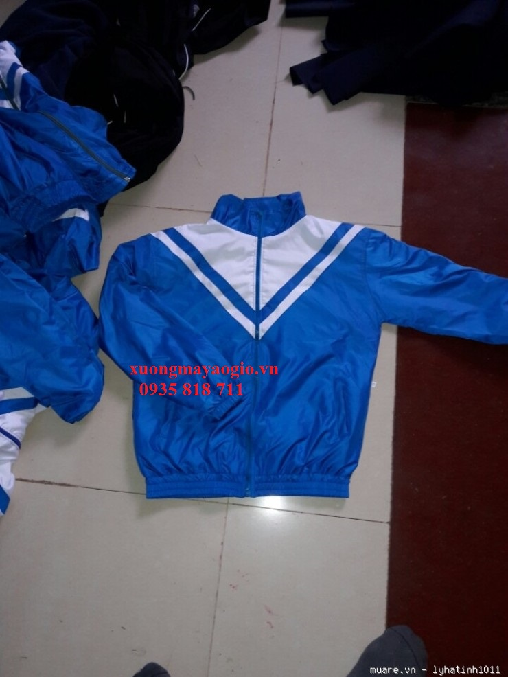 Đồng phục áo gió học sinh